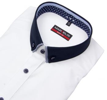 Hemd mit Kontrastkragen