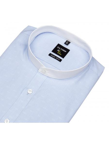Hemd mit Stehkragen / ohne Kragen