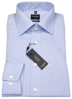 Business-Hemd von Olymp in hellblau mit New Kentkragen