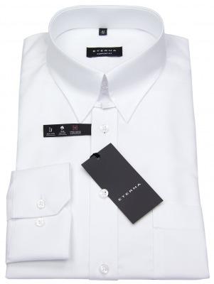 Eterna Hemd mit Tab Kragen weiß