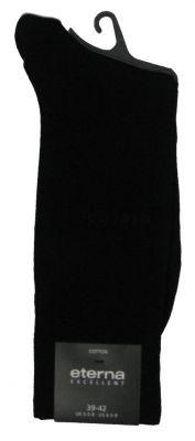Eterna Socken schwarz