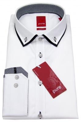 Hemd Pure Slim Fit mit Button-Down-Kragen