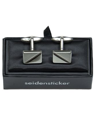 Manschettenknöpfe von Seidensticker quadratisch inkl. Schachtel