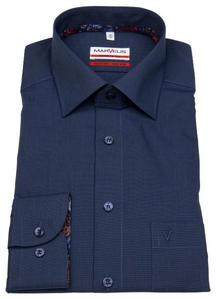 Marvelis Hemd mit extra langem 69cm Arm in Modern Fit