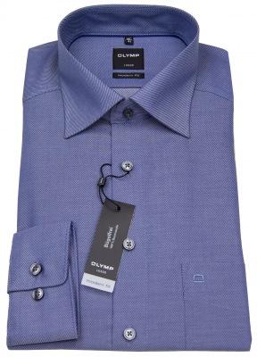 Olymp Hemd im Outlet Sale - Modern Fit blau