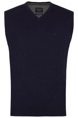 blauer Pullunder von CASA MODA aus Baumwolle
