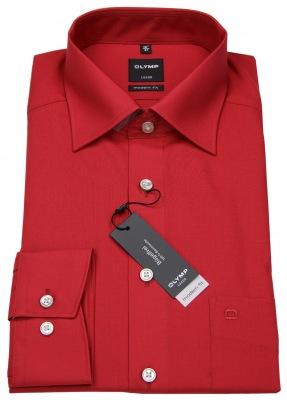 Rotes Hemd von Olymp in Modern Fit Artikelnr. 0304 64 38